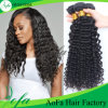 Cheap Price Unprocessed Deep Wave Virgin Human Hair Pieces