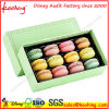 Attractive Colorful Food Grade Folding Packing Box for Macarons