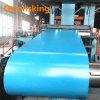 Blue Red Green White Gray PPGI PPGL PE Coating Galvanized Steel Coil