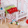 2017 Romantic Wooden Toy Doll House