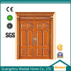 Interior Solid Wooden MDF Entrance Doors for Houses