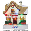 Christmas Village House Resin Kids Collection Glitter
