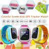 Colorful Screen Kids Safety GPS Tracker Watch with Sos Button Y7s