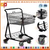 Top Quality Supermarket Store Hand Cart Trolley From Manufacturer (Zht145)