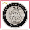 Soft Enamel Custom Antique Silver Souvenir Coin
