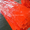 High Quality PE Tarpaulin Red Green Blue White Striped PE Tarpaulin Sheet