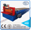 Lower Cost Trapezoidal Metal Roof Sheet Roll Forming Machinery