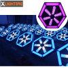 Infinite Whirlwind LED Fan Lights Effect Club Background Light