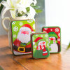 Customized Tinplate Box Christmas Cookies Gift Tins Special Shaped Tin Boxes