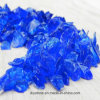 Blue Colored Crushed Glass Water Filter Media