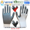 13G Polyester Shell Nitrile Coated Gloves (N1501) Smooth Finish with CE, En388, En420, Work Gloves