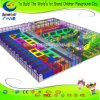 Professional Factory Kids Amusemet Park Equipment Customized Trampoline Park