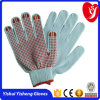 PVC Dots 7gauge or 10gauge Computer Machine PVC Dotted Gloves for Construction Use