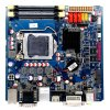10 COM Ports Industrial Motherboard with 8*USB2.0, Max. Current Supported 5V/1A