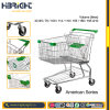Retail Hand Push Strong Shopping Trolley for Hypermarket