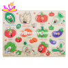 New Hottest Intelligence Toys Wooden Vegetable Puzzle for Children W14m112