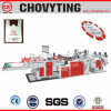 Fully Automatic Three Lines Plastic Carry Bag Making Machine