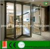 Bi Folding Aluminum Window and Door, French Style Aluminum Exterior Used Folding Window