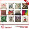 Colorful Cotton Linen Sofa Home Decorative Square Throw Pillow
