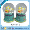 Wedding Snow Globe Two Yellow Hellokitty Inside