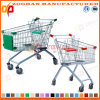 Good Quality Supermarket Euro Style Shopping Trolley (Zht6)