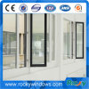 Thermal Break Swing Windows Removable Aluminum Glass Window