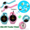 Round Screen Kids GPS Watch Tracker with Camera D14