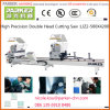 Aluminium Window Frame Making Machine, Double Mitre Cutting Saw for Aluminum