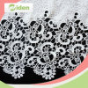 Women Clothes Fabrics 100 % Milky Polyester Chemical Lace Fabric