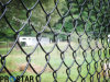Residential Chainlink Fencing with PVC Coating