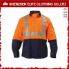 Wholesale Reflective Work Shirts Men Cotton Work Shirts (ELTHVSI-4)