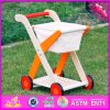 2016 Wholesale Baby Shopping Wooden Doll Pram, High Quality Wooden Toy Doll Pram, Kids Wooden Toy Doll Pram W16e063