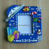Merry Christmas Soft PVC Picture Photo Frame with Magnet