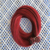 Red Color Human Hair Prebonded Flat Tip Hair Extension