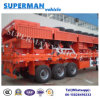 60t Wood/Container Transport Cargo Semi Truck Trailer