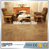 Popular China Slate Stone Tile for Flooring, Wall with Black/Grey/Yellow/Rusty Color