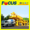 Yhzs60 60m3/H Mobile Concrete Mixing Plant