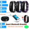 Bluetooth Wristband Smart Silicone Bracelet with Heart Rate Monitor H28