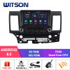 Witson Quad-Core Android 9.0 Car DVD GPS for Mitsubishi Lancer 2006-2013 Built-in DAB+ Function