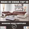 Genuine Leather and U Shaped Corner Sofa for Living Room
