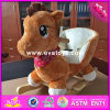 2017 Wholesale Wooden Rocking Horse for Kids, New Design Wooden Rocking Horse for Kids, Best Sale Rocking Horse for Kids W16D102