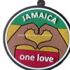 One Love Rubber Gift Keychain (OEM order)