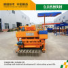 Qtm6-25 Cement Mobile Brick Making Machine / Concrete Egg Laying New Technology Block Machine