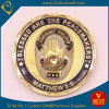 Gold Plating Metal Coin for Souvenir&Military&Police