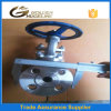 DIN Standard Pn40 Dn80 316 Stainless Steel Globe Valve
