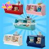 High Quality Lovely Color Wooden Kids Storage Boxes with Cartoon Designed W08c236