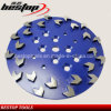 10 Inch Arrow Segments Concrete Grinding Disc Metal Polishing Pad