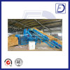 Non Metal Baling Machine for Cardboard Paper Bottles Textile Wood