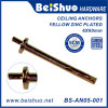 Galvanized Expansion Bolt Wedge Anchor Ceiling Anchor