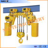 Factor Price Hhbb10-15t Electric Chain Hoist